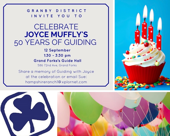 Celebrate 50 years of Guiding